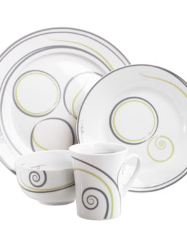 WDCA040-4-Piece Set-White