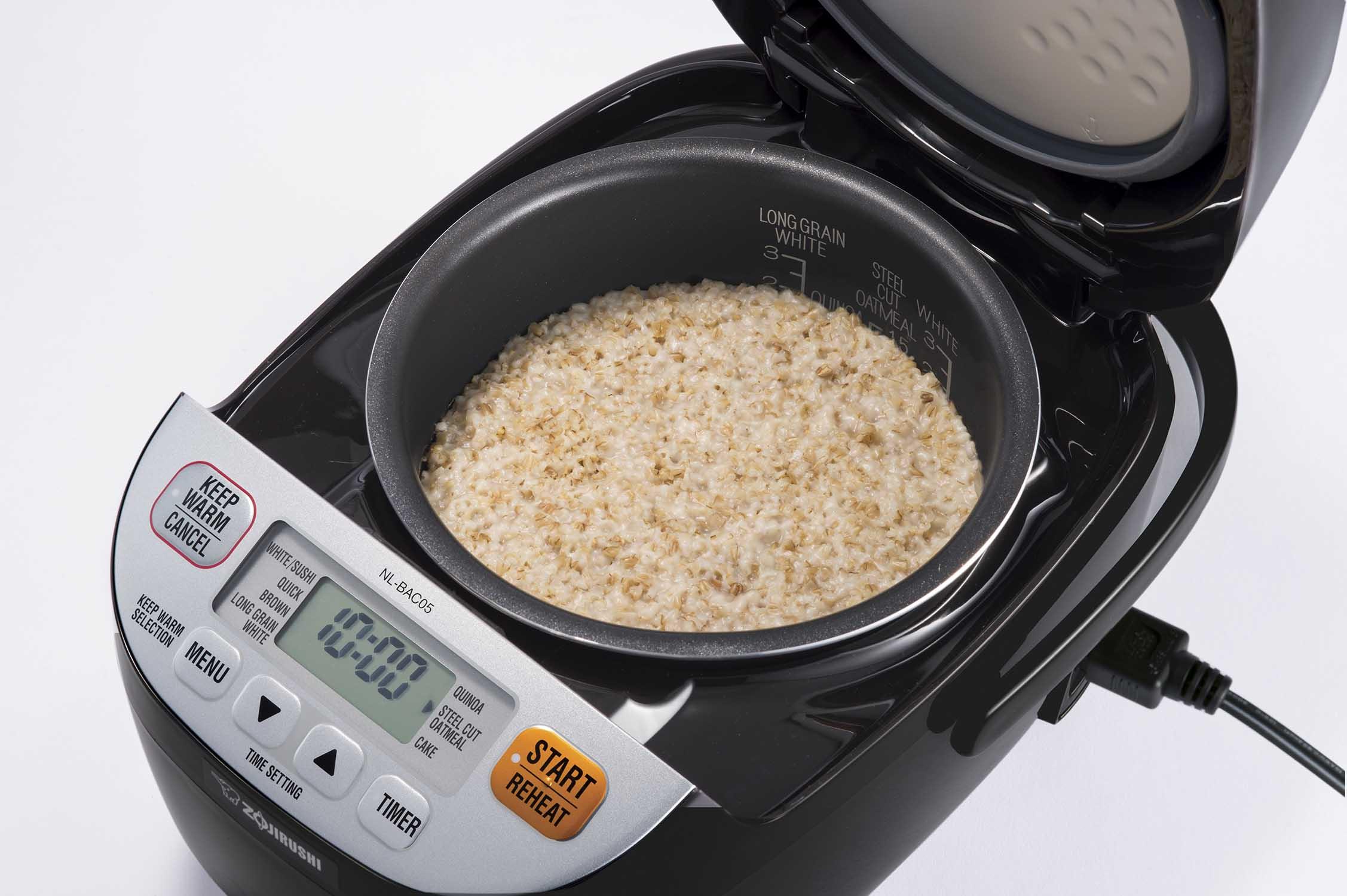 Zojirushi Rice Cooker with Steel Cut Oatmeal Quinoa Setting – Invite Fitness