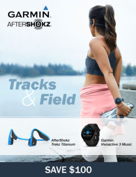 garmin aftershock titanium bundle