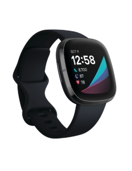 Fitbit_Sense_Render_3QTR_Core_Carbon_Graphite_Clock_Default